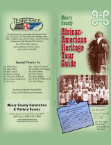 Maury County African American Heritage Tour Guide