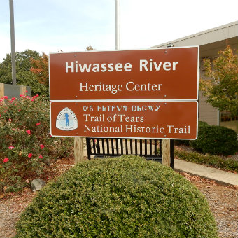 The Trail of Tears at the Hiwassee River Heritage Center