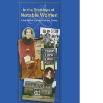 In the Footsteps of Notable Women brochure