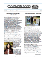 Common Bond Newsletter fall 2003 edition