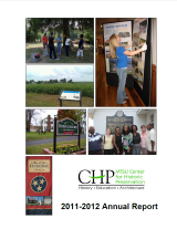 Center for Historic Preservation Annual Report 2011-2012