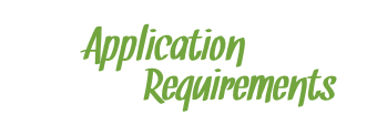 Application Requirements for Student Assistance