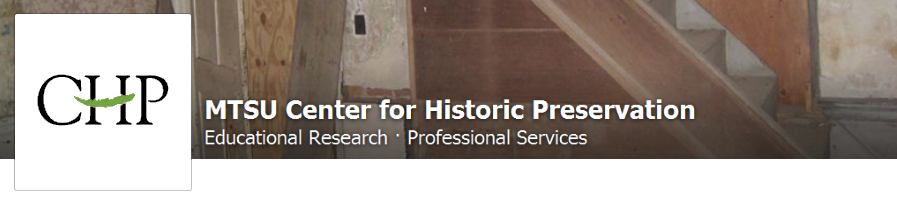 The MTSU Center for Historic Preservation on Facebook