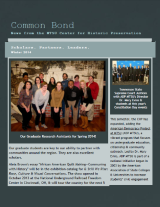 Common Bond newsletter winter 2014 edition