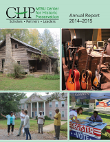 Center for Historic Preservation Annual Report 2014-2015