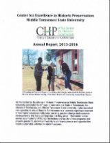 Center for Historic Preservation Annual Report 2013-2014