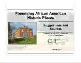 Preserving African American Historic Places