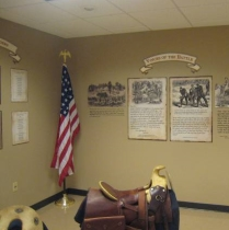 Parker's Crossroads Battlefield exhibit