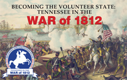 Tennessee in the War of 1812 Symposium logo