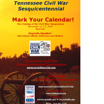 Tennessee Civil War Sesquicentennial Conference Flyer