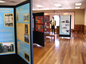 Exhibits at the Heritage Center