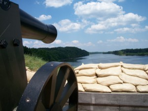 Canon at Fort Donelson