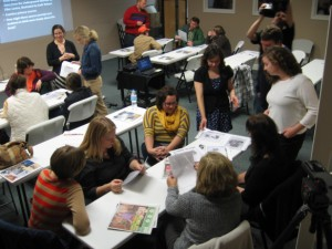 Teaching with Primary Sources workshop at the Heritage Center