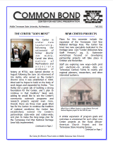 Common Bond Newsletter fall 2002 edition