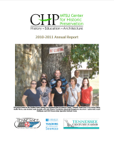Center for Historic Preservation Annual Report 2010-2011