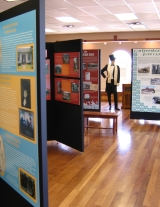 Exhibits at the Heritage Center of Murfreesboro and Rutherford County