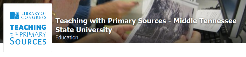 Teaching with Primary Sources MTSU on Facebook