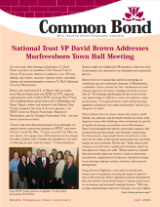 Common Bond newsletter fall 2006 edition
