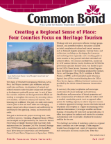 Common Bond newsletter fall 2007 edition